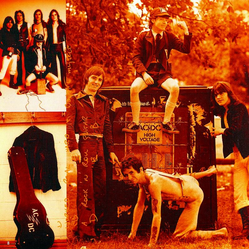 AC/DC HIGH VOLTAGE ハイ・ヴォルテージ 国内盤 デジパック 76年作 リマスター盤