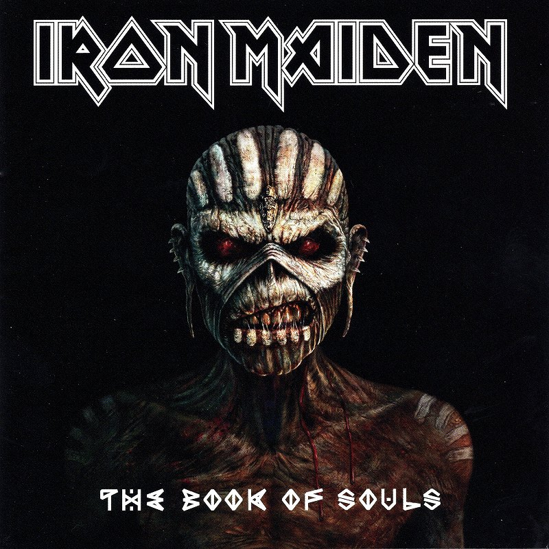 IRON MAIDEN/THE BOOK OF SOULS 新品 魂の書 ザ・ブック・オブ・ソウルズ