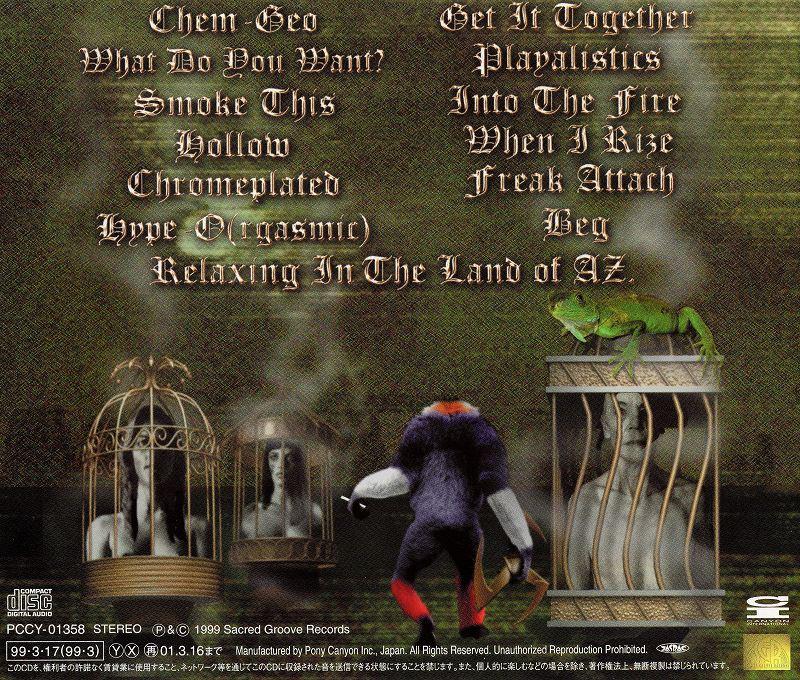 LYNCH MOB/SMOKE THIS リンチ・モブ スモーク・ディス 99年作 国内盤