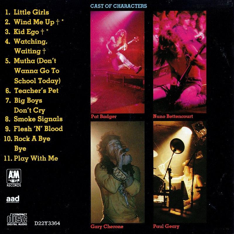 EXTREME/エクストリーム 89年作 国内盤 KID EGO LITTLE GIRLS