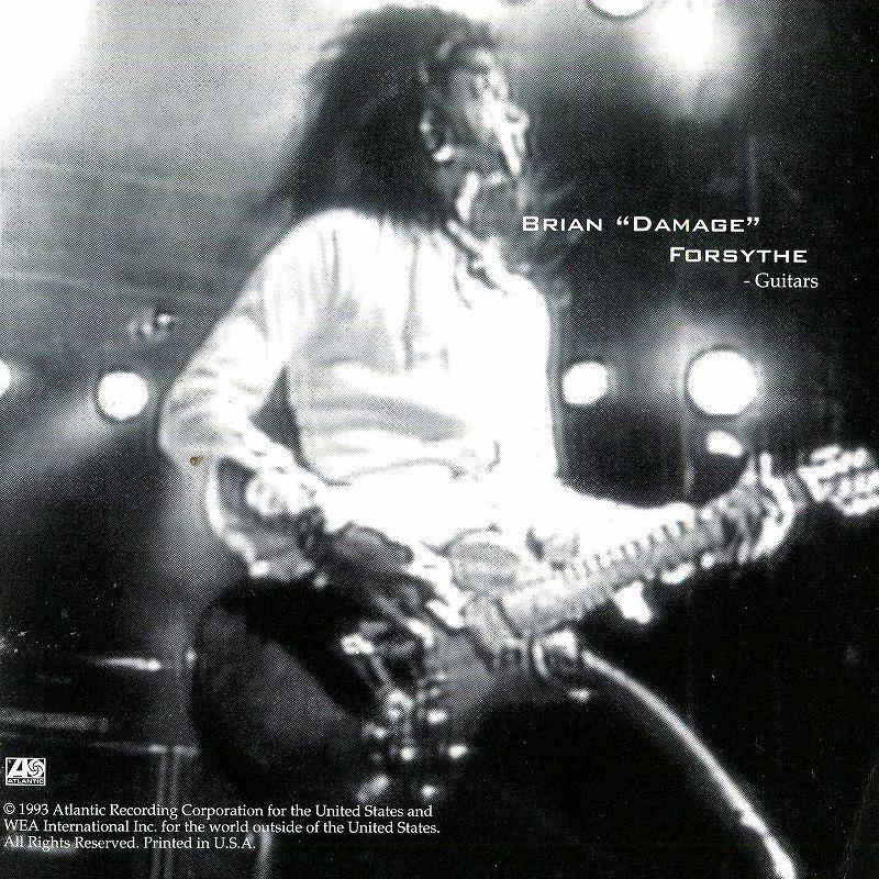 KIX/LIVE キックス ライヴ 93年リリース作 80年代メタル名バンド 91年ツアー
