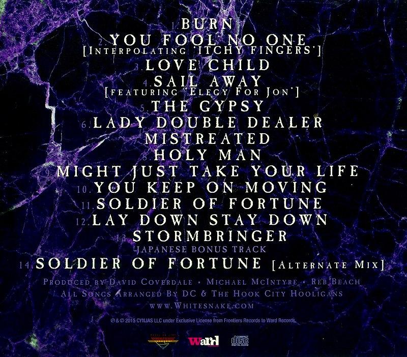 WHITESNAKE/THE PURPLE ALBUM ホワイトスネイク 国内通常盤
