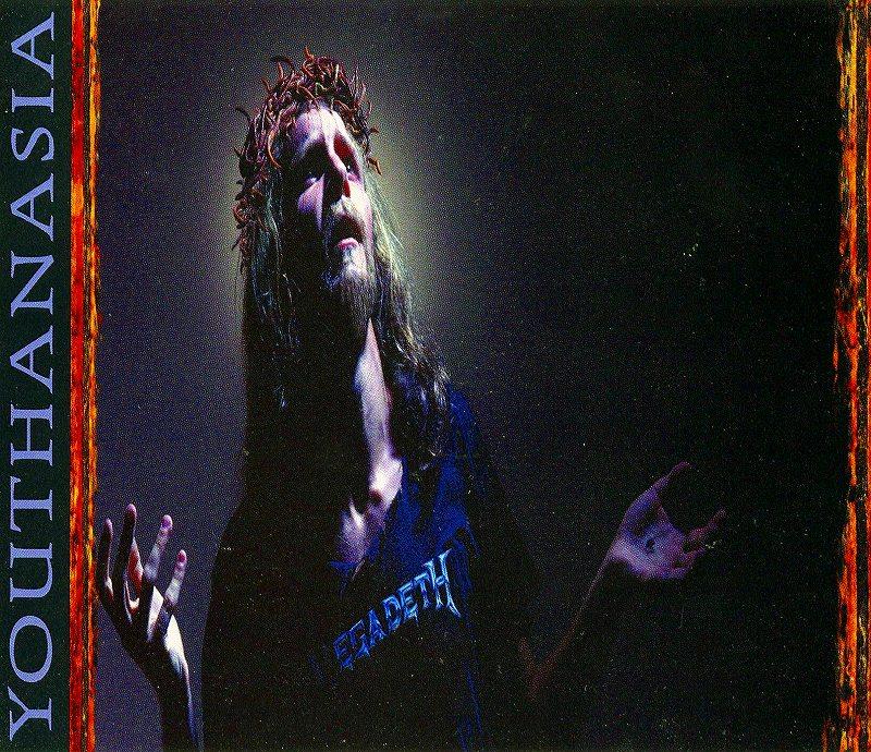 MEGADETH/YOUTHANASIA メガデス ユースアネイジア 94年作 国内盤