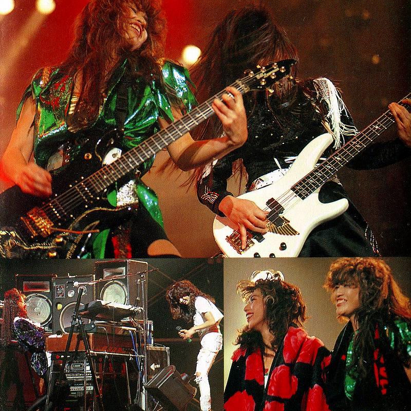 SHOW-YA/HARD WAY TOUR 1991 全盛期最終ライヴ 寺田恵子