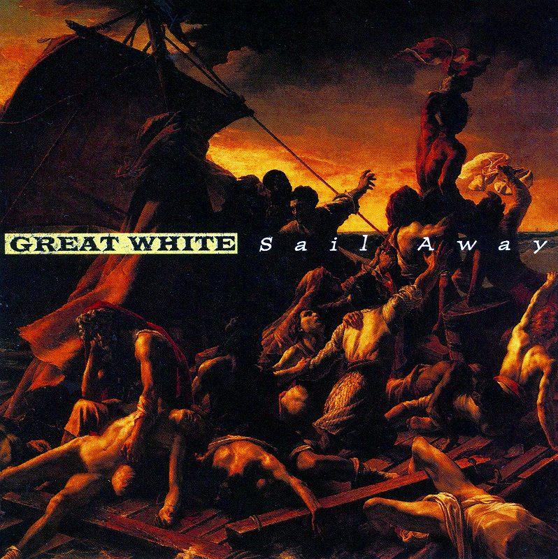 GREAT WHITE/SAIL AWAY グレイト・ホワイト セイル・アウェイ 国内盤 2枚組