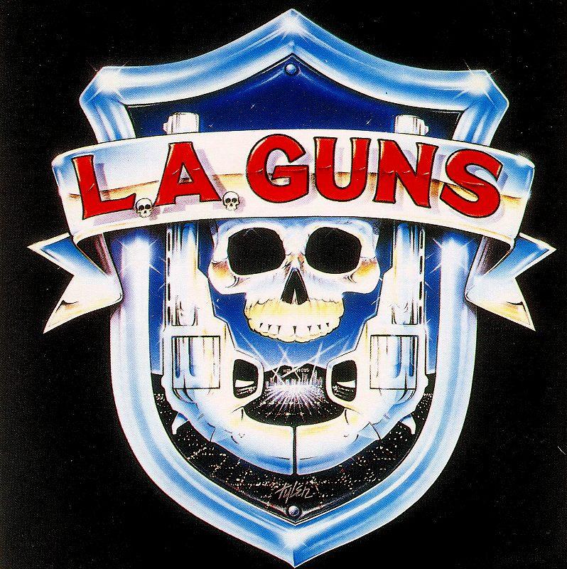 """L.A. GUNS/L.A.ガンズ """"砲"""" 88年作 国内盤 LAメタル名盤 デビュー作"""