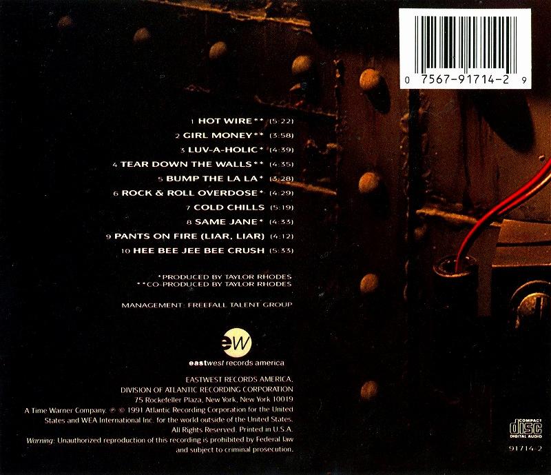 KIX/HOT WIRE キックス ホット・ワイヤー 91年作 隠れ名盤 ポップ・メタル