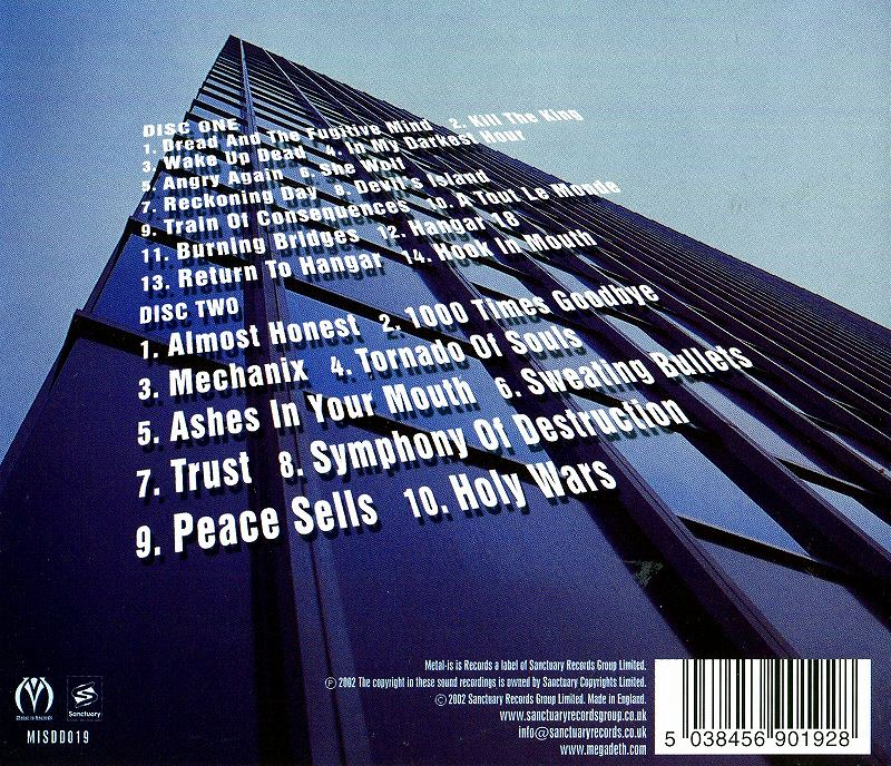 MEGADETH/RUDE AWAKENING メガデス 2枚組ライヴ 02年リリース