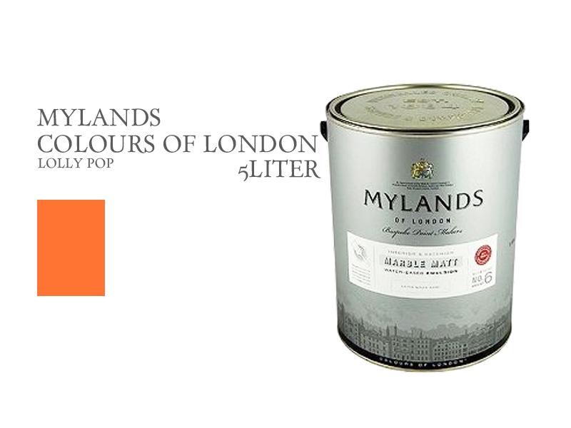 マイランズカラーズオブロンドン Mylands Colours of London ロリポップ 5L