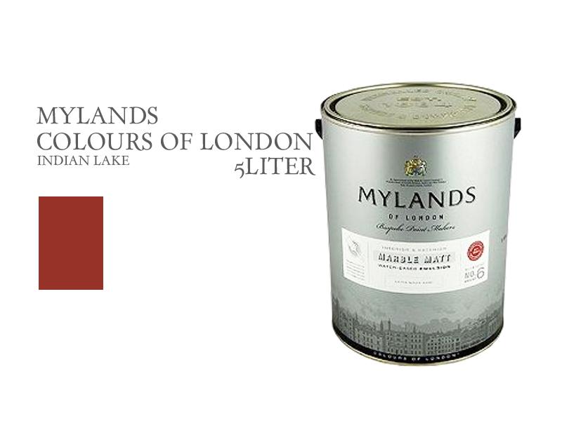 マイランズカラーズオブロンドン Mylands Colours of London インディアンレイク 5L