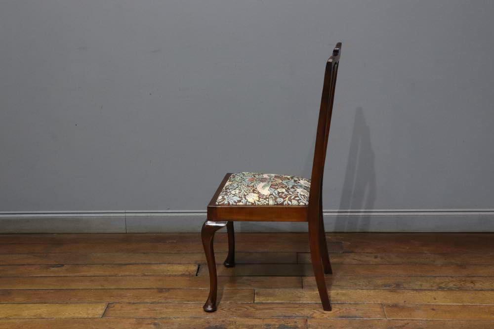 クイーンアンチェア with William Morris