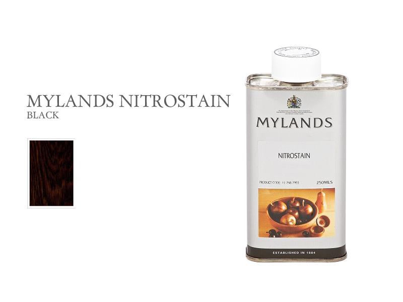 マイランズ ナイトロステイン MYLANDS Nitrostain ブラック 250ml