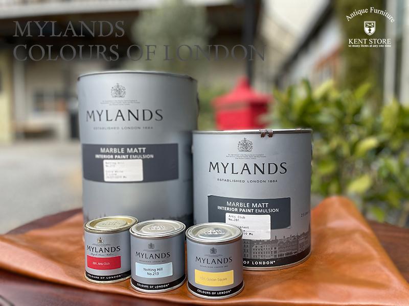 マイランズカラーズオブロンドン Mylands Colours of London ブロンプトンロード 2.5L