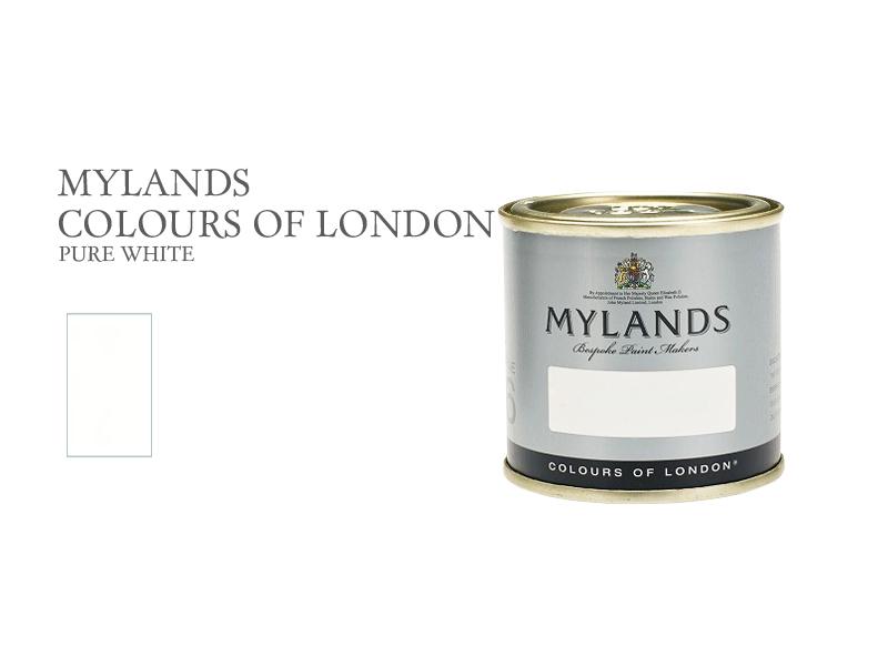 マイランズカラーズオブロンドン Mylands Colours of London ピュアホワイト 100ml