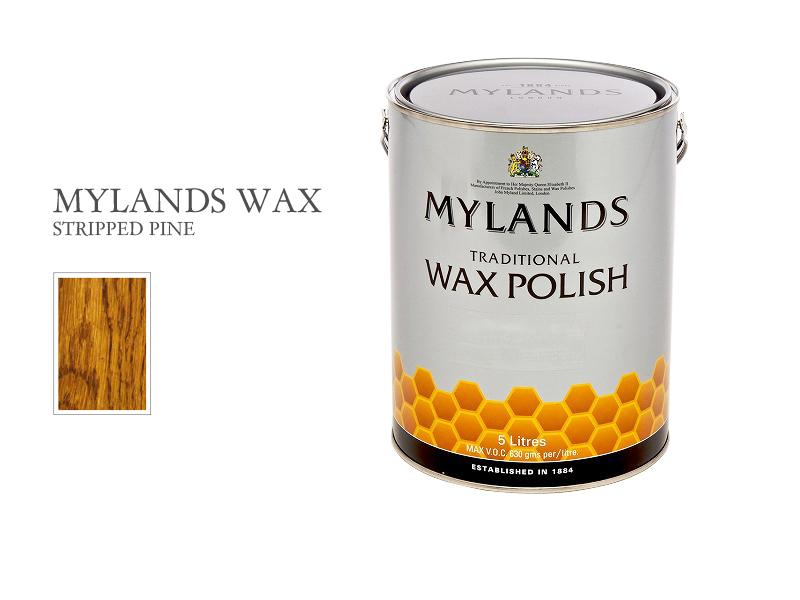 マイランズワックス MYLANDS Wax ストリップドパイン 5L