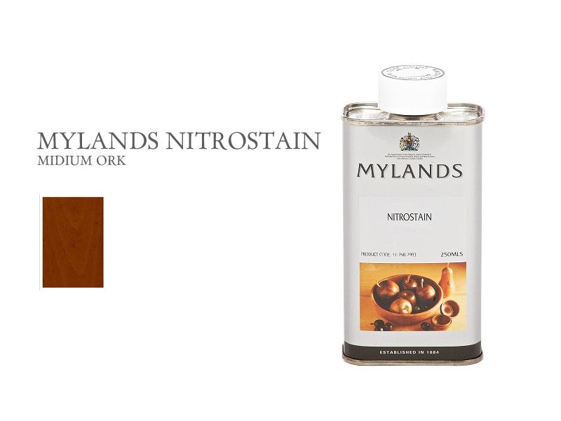 マイランズ ナイトロステイン MYLANDS Nitrostain ミディアムオーク 250ml