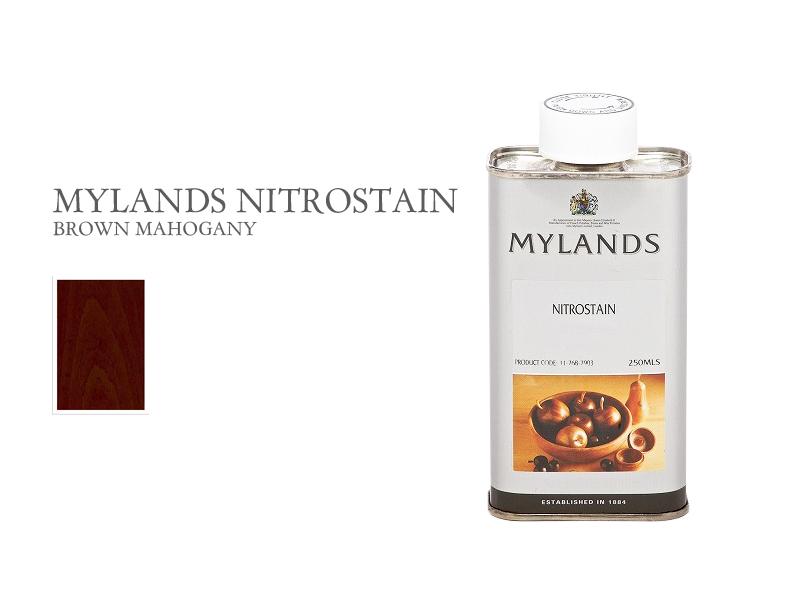 マイランズ ナイトロステイン MYLANDS Nitrostain ブラウンマホガニー 250ml
