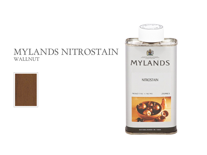 マイランズ ナイトロステイン MYLANDS Nitrostain ウォールナット 250ml