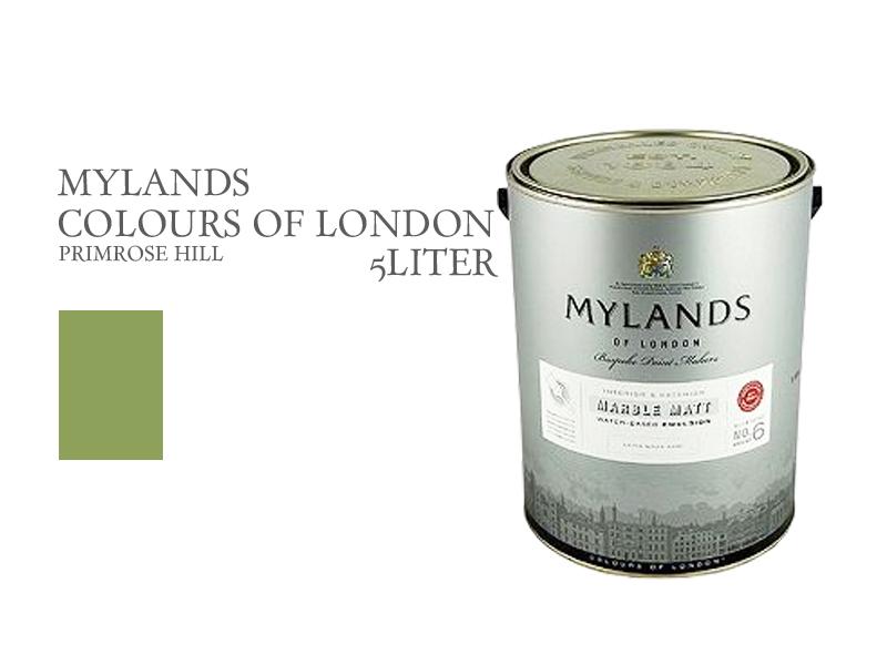 マイランズカラーズオブロンドン Mylands Colours of London プリムローズヒル 5L