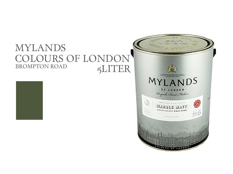 マイランズカラーズオブロンドン Mylands Colours of London ブロンプトンロード 5L