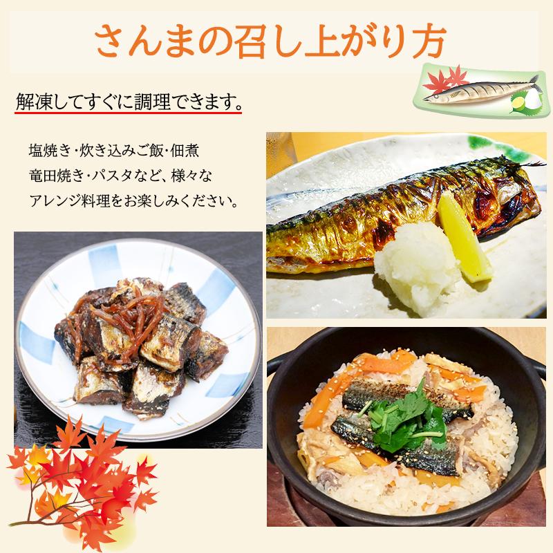 筒切り 冷凍さんま (1kg)丸繁商店 気仙沼 三陸 秋刀魚 サンマ お取り寄せ おかず