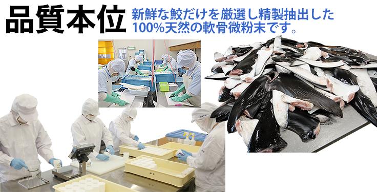 コンドロイチン SP60 カプセル 300粒 送料無料 「海の恵 鮫の軟骨粉」 天然 サメ 軟骨 国内生産 健康食品 気仙沼 福寿水産