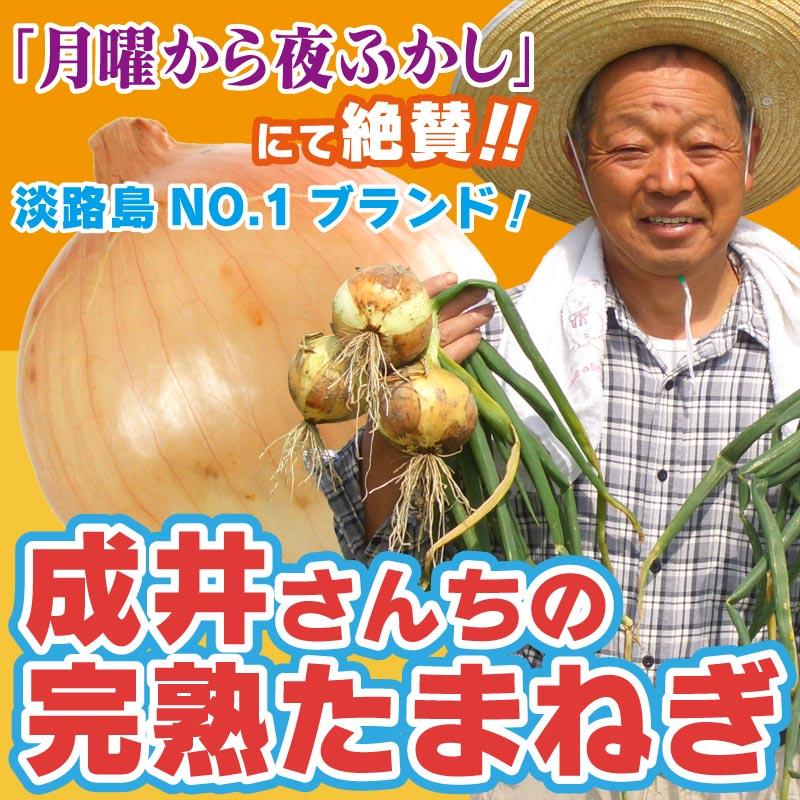 成井さんちの完熟たまねぎ 1kg[兵庫県淡路島] / たまねぎ