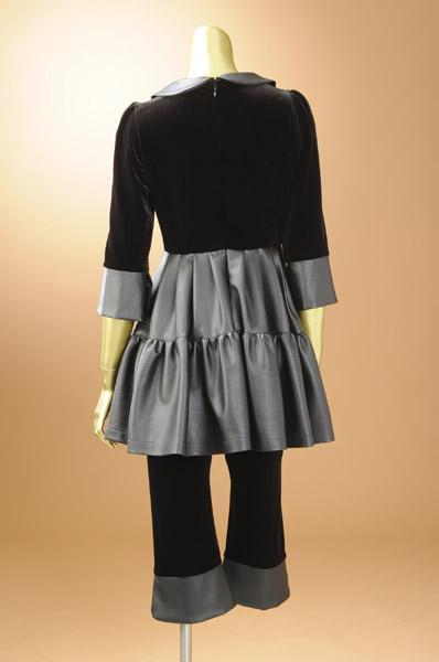 【五分袖七分袖】丸襟が可愛い!ホームクリーニングOK☆STKJ156CK247C
