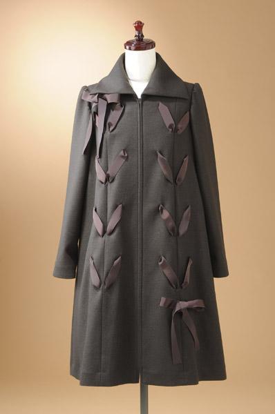 【コート】シンプルラインのコート☆COKJ235A