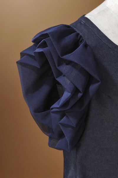 【エアリーなお袖が可愛い】Aラインで着心地も◎☆OPKJ89