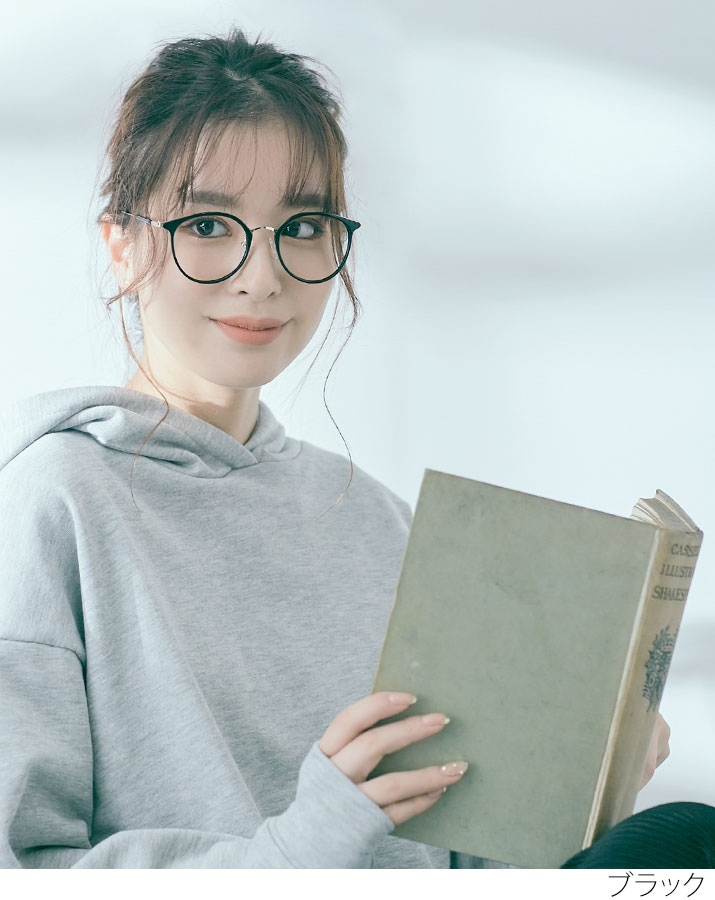 クリアフレームブルーライトカットメガネ 全3色 //5//