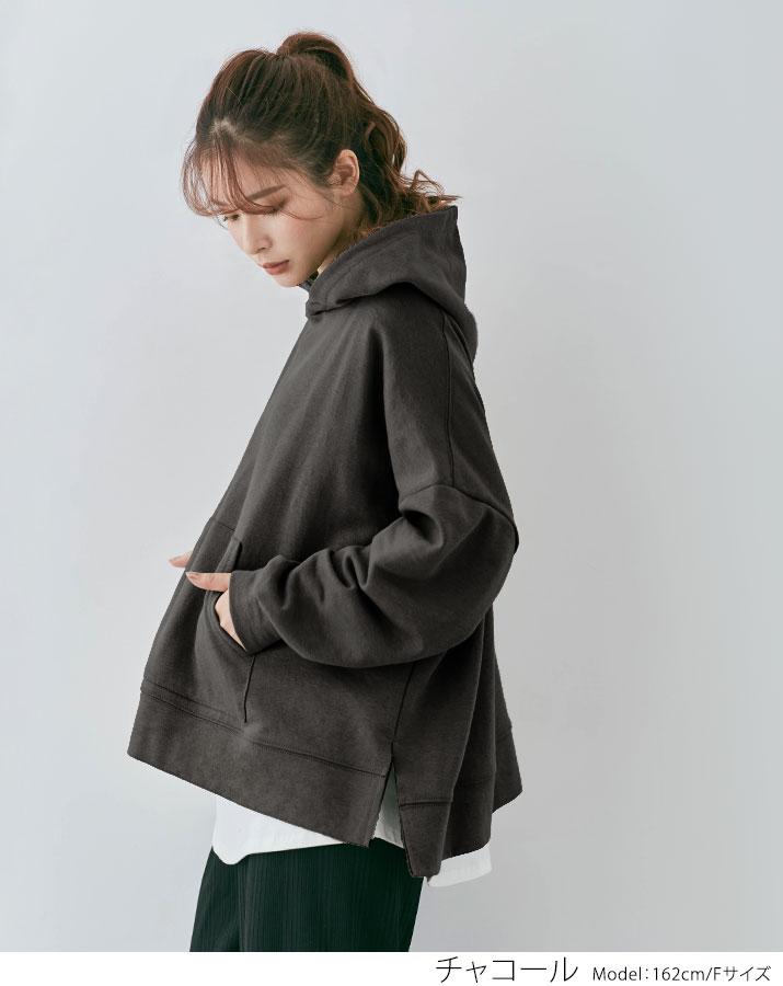 ルーズシルエットフーディー 全9色 ////