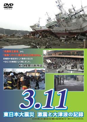 DVD「3.11 東日本大震災 激震と大津波の記録」