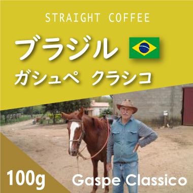 ブラジル ガシュペ クラシコ 100g