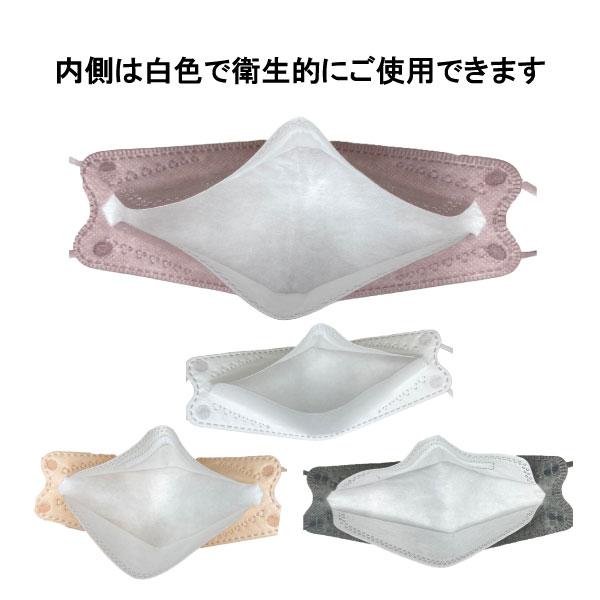 ネコポス対応 20枚セット 血色マスク 血色カラー 大人用 3D立体加工 小顔効果