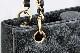 A464-17r0219【CHANEL】シャネルキャビアスキン マトラッセ チェーン トートバッグ