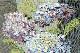 A445-17n0014-1【IOSIS】ゴブラン織ポーチ(紫陽花)
