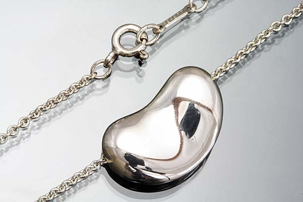 A346-15g0018【TIFFANY&CO.】ビーンズSilver925 ネックレス