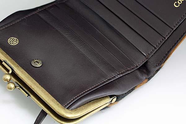 A451-17n0044【Coquette】がま口二つ折り財布