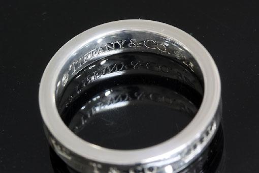 A551-20n0168-1【TIFFANY&CO.】1837ナロー SV925リング