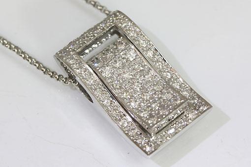 F71-20t0017-3【ダイヤモンド 1.02cts】Pt900/850 3wayペンダントネックレス