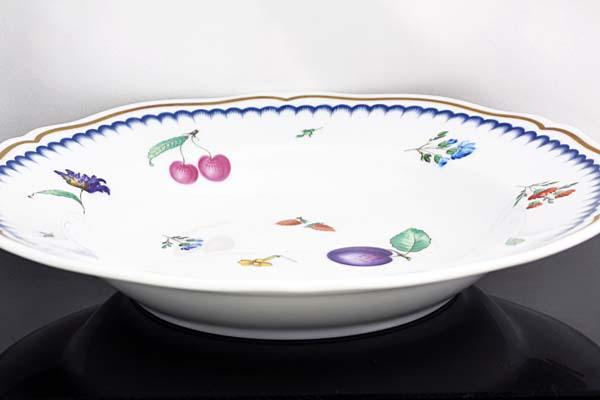 A434-17n0129【Richard Ginori】リチャード・ジノリ イタリアン・フルーツ スープ 皿