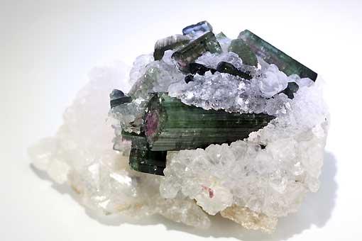 ab86-9【トルマリン入り水晶】原石