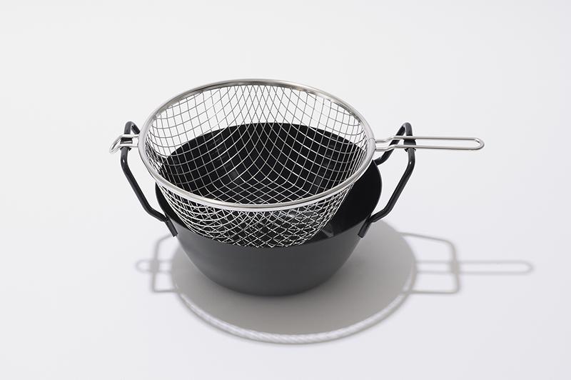ラバーゼ 鉄揚げ鍋 22cm セット