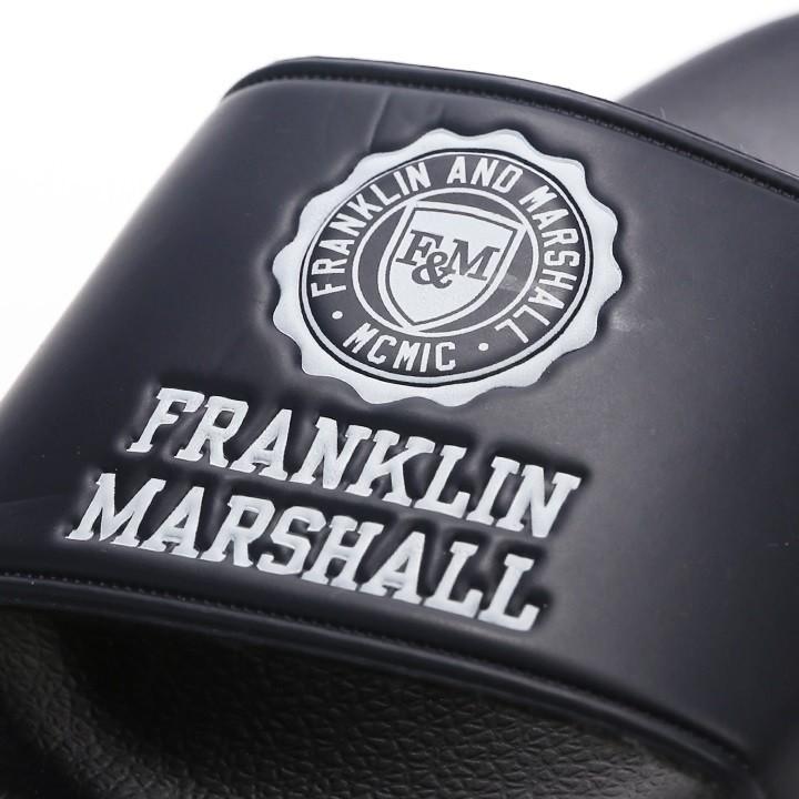 フランクリン&マーシャル FRANKLIN & MARSHALL シャワーサンダル メンズ レディース 男女兼用 エンボスエンブレムロゴ スポーツサンダル FTUA983