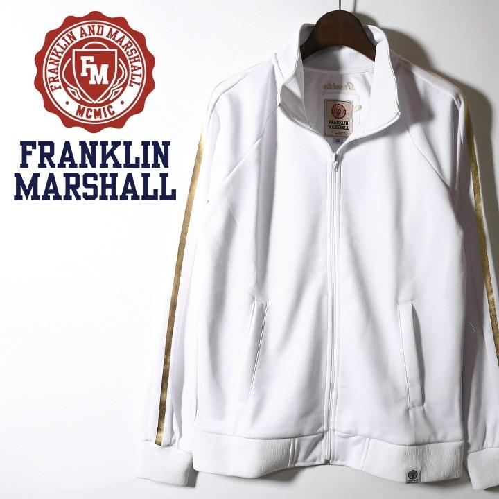 フランクリン&マーシャル FRANKLIN & MARSHALL トラックジャケット レディース 袖ライン ジップアップ ジャージー FLEECE UNI ZIP LONG