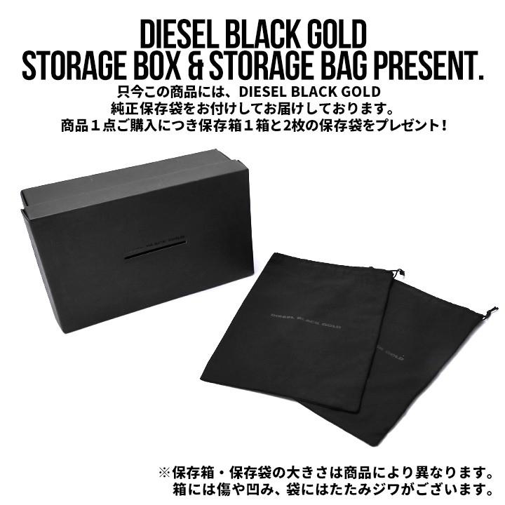 ディーゼルブラックゴールド DIESEL BLACK GOLD レザースニーカー 靴 シューズ メンズ 本革 レザー ヴィンテージ汚しユーズド加工スウェード ALEN-LL