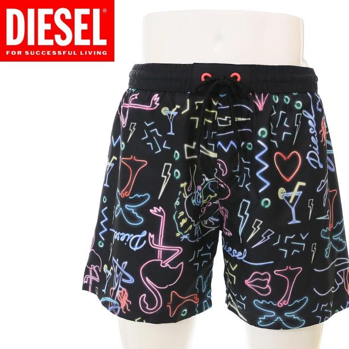 ディーゼル DIESEL 海パン ビーチウェア スイムウェア メンズ 総柄 メンズ水着 男性水着 サーフトランクス サーフパンツ BMBX-WAVE