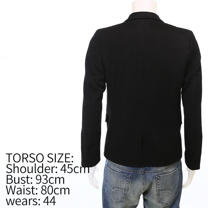 ディーゼルブラックゴールド DIESEL BLACK GOLD テーラードジャケット メンズ リアルキャメル素材 2ボタン 比翼 袖口ジップ シングルブレスト JALLO