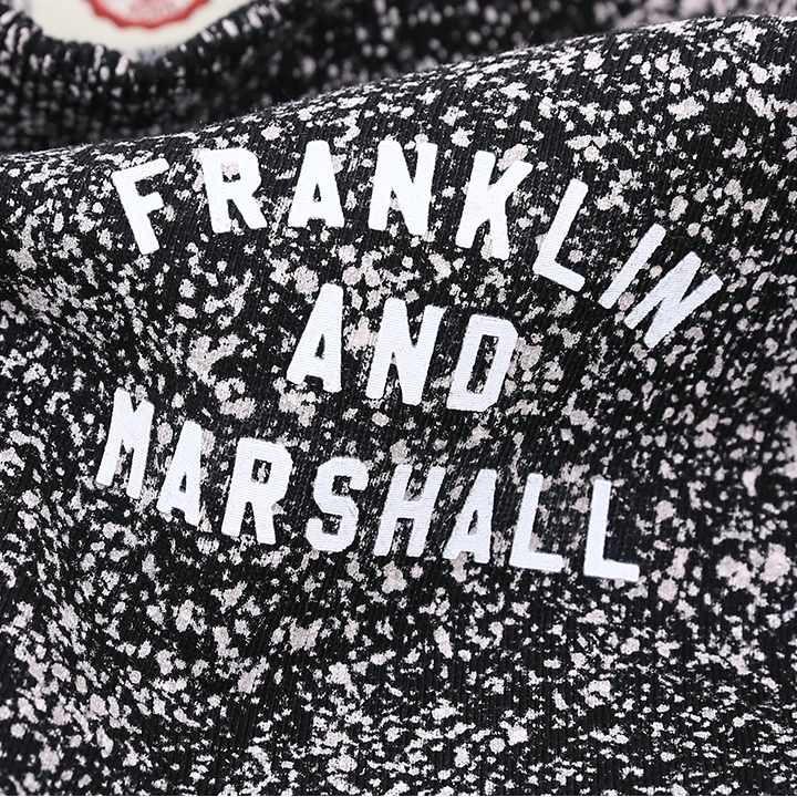 フランクリン&マーシャル FRANKLIN & MARSHALL 長袖トレーナー スウェットシャツ レディース ロング丈 チュニック丈 FLEECE FLEECE ROUND NECK LONG